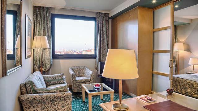 Estancia en Milán en habitación executive en el barrio de Citylife y botella incluida