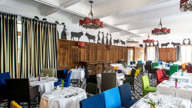 Escapada relax con cena en un hotel con encanto de Arles (no cancelable ni reembolsable)