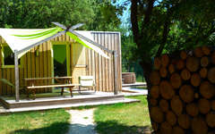 Lodges en provence 5 richerenches france for Chambre de charme provence