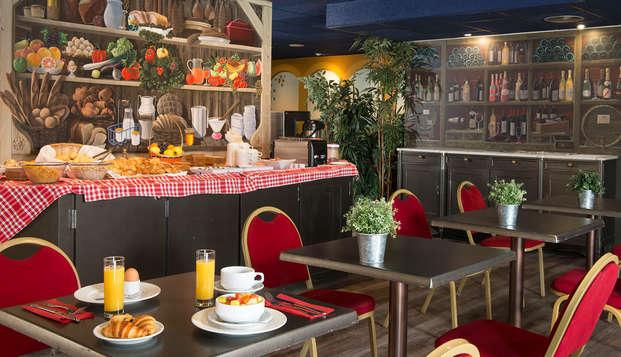 Hotel Leonard De Vinci - breakfast