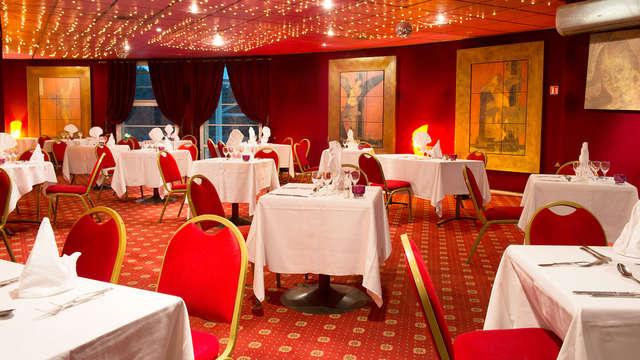 Week-end détente avec dîner 3 plats à 30 minutes de Paris