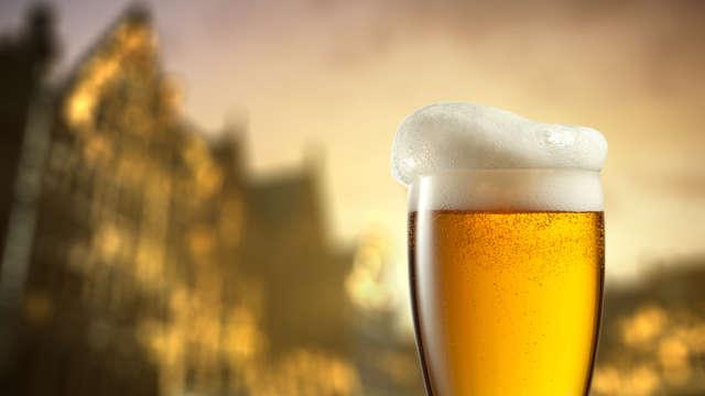 Dégustation de bières Warsteiner à la brasserie Warsteiner Welt