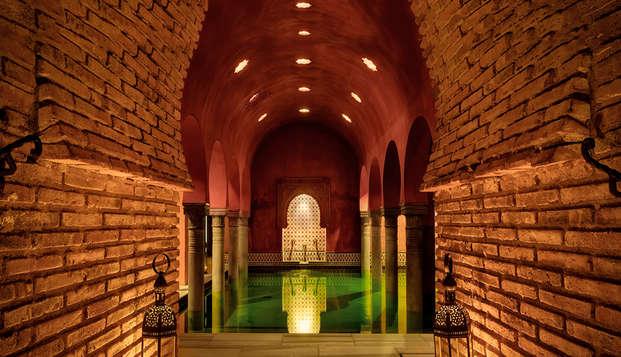 Oasis de relax en Granada con acceso al Hammam