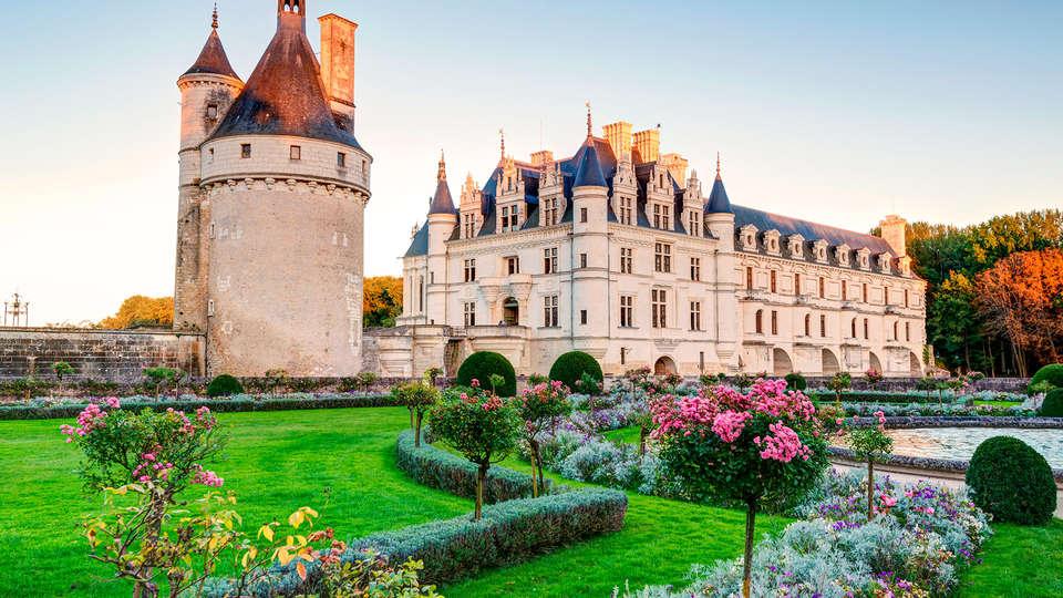 Week end citytrip Tours avec 1 Billet coupe-file pour le Château de  Chenonceau et ses jardins pour 2 adultes à partir de 115€