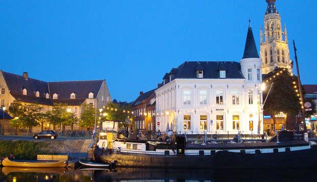 Design et modernisme dans la ville accueillante de Breda (à partir de 2 nuits)