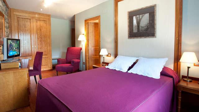 Romanticismo en un hotel con encanto en el Valle de Benasque