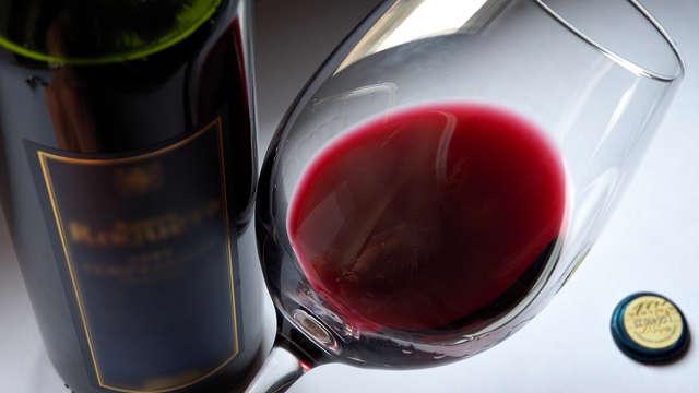 Botella de vino para 2 adultos