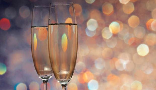 Romanticismo, champán y suite de lujo en Clervaux (desde 2 noches)
