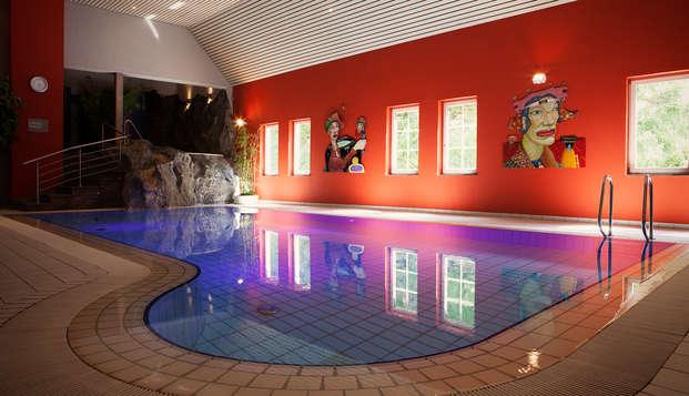 Lujo en Luxemburgo con champán y acceso al spa