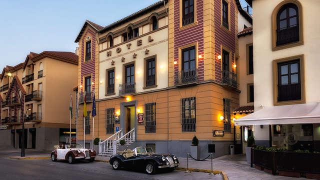 Escapada cerca de Granada con un niño gratuito en un edificio del s.XIX