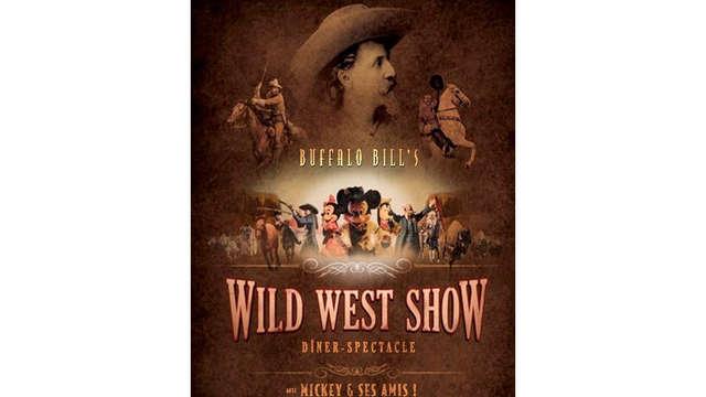 """Cena con espectáculo Disney """"La Légende de Buffalo Bill… avec Mickey et ses Amis"""" para 2 adultos"""