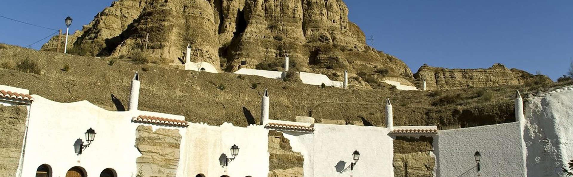 Dormez dans une grotte à un pas de Guadix, en Andalousie
