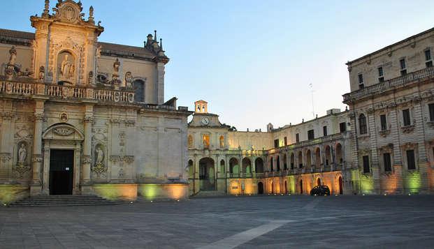 Noche de 5* en el casco histórico de Lecce