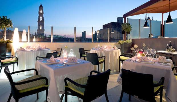 Estancia de lujo en Lecce en un hotel 5* con media pensión