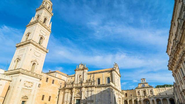 Notte nel centro della magnifica città di Lecce