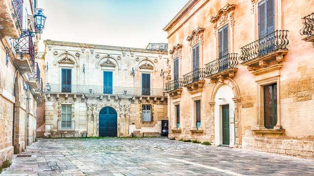En el corazón de Salento en un céntrico hotel de Lecce