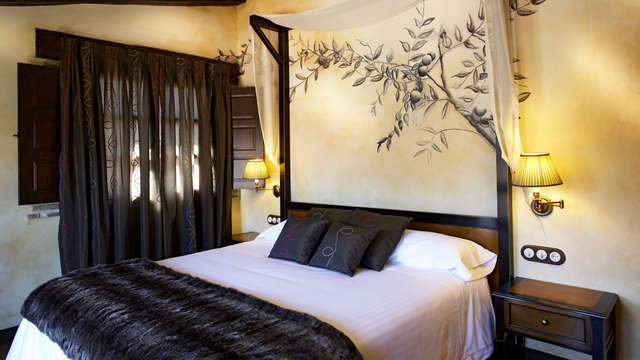 Romanticismo & Relax con spa privado en plena naturaleza en Abánades