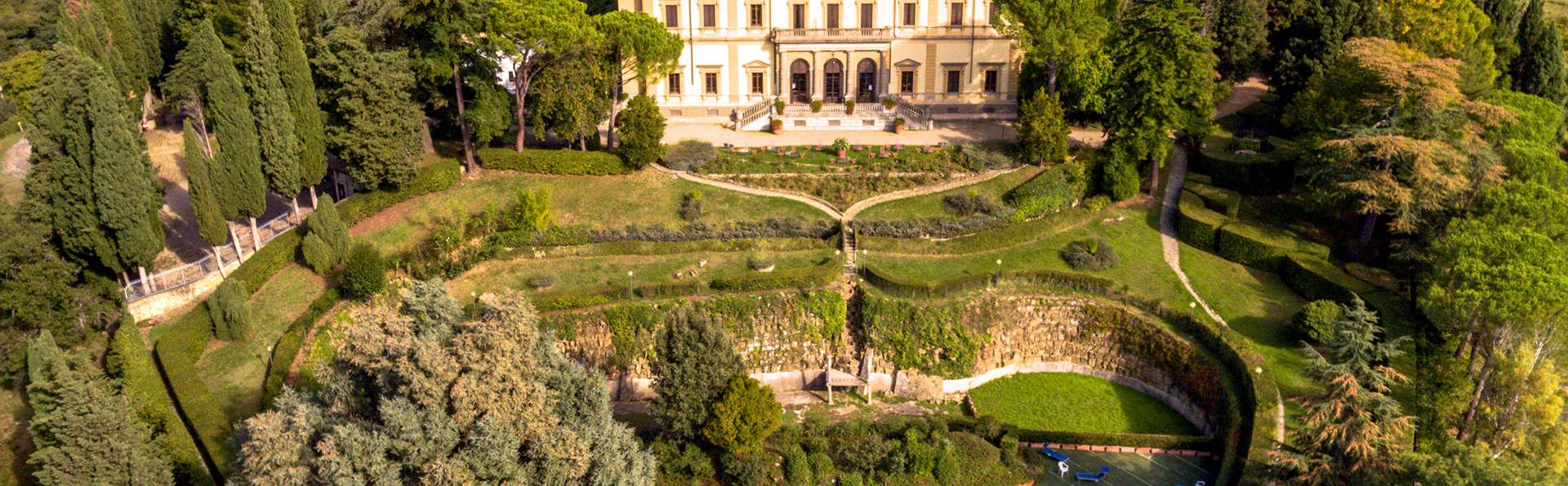 Week-end romantique dans une villa au cœur des collines de la Toscane