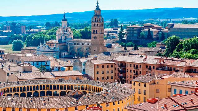 Escapada en hotel 4* con desayuno a pocos minutos de Zaragoza