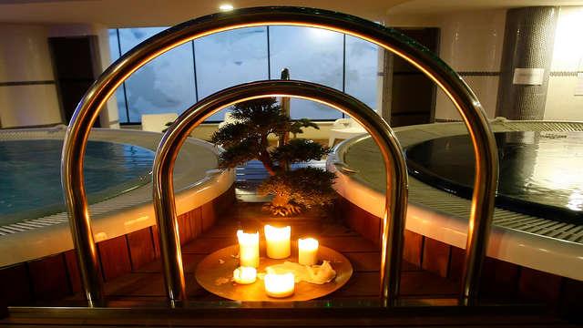 Escapada romántica con cena  y spa para dos en Zaragoza