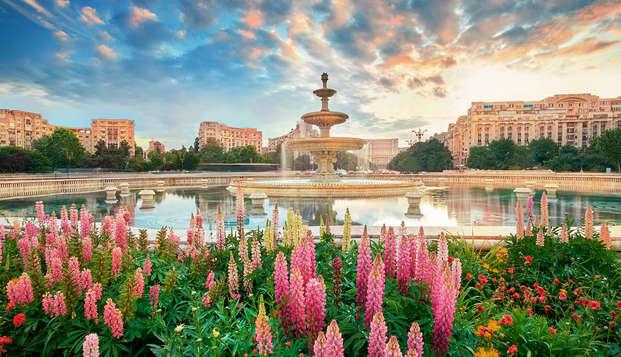 Lujo en el corazón de la romántica Bucarest