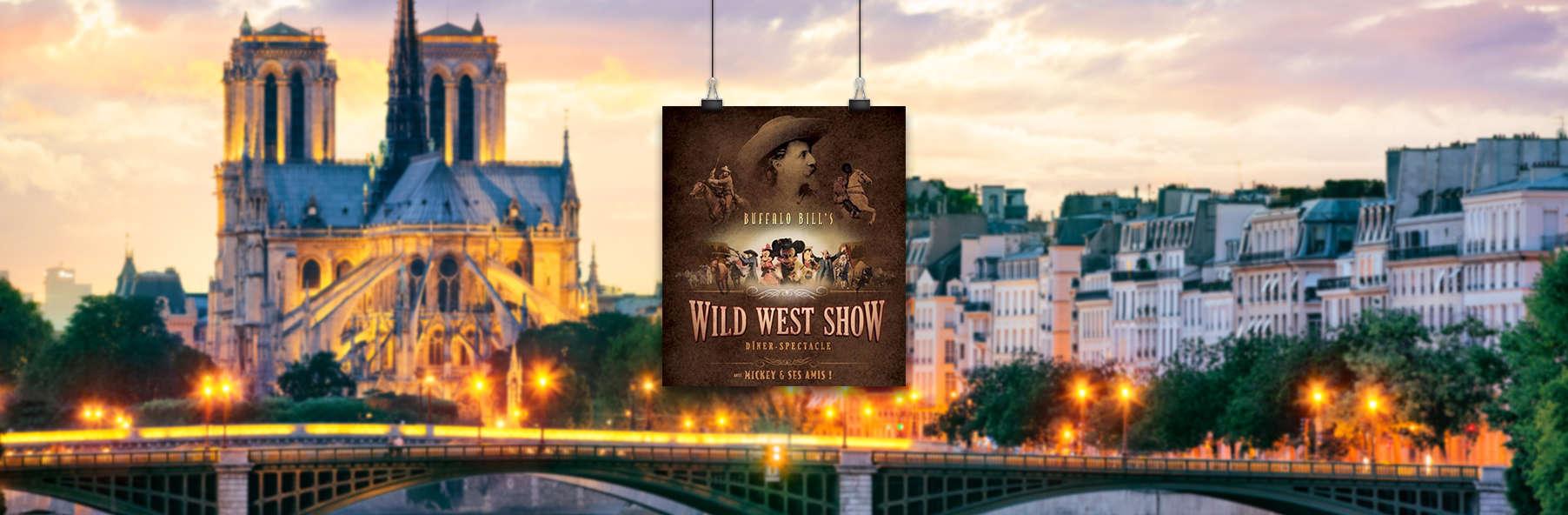 """Dîner-spectacle Disney """"La Légende de Buffalo Bill"""" et séjour 4* aux portes de Paris"""