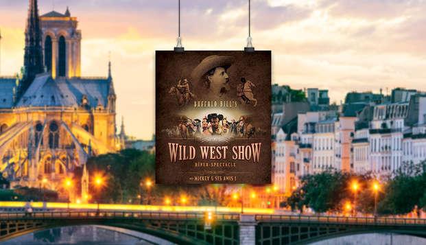 """Escapada mágica con cena espectáculo """"La leyenda de Buffalo Bill"""" en el Disney Village"""