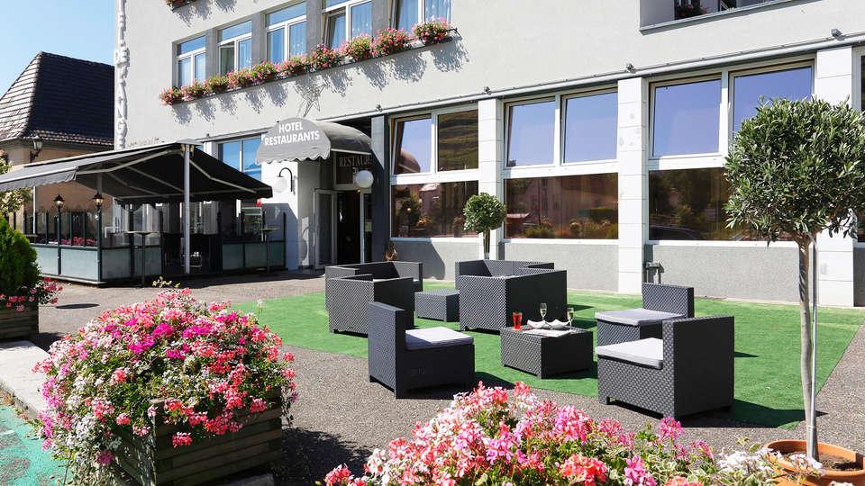 The Originals City, Hôtel de l'Ange, Colmar Sud (Inter-Hotel) - EDIT_terrace.jpg