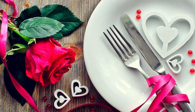 Especial San Valentín: Escapada con Cena Romántica, Fiesta y Spa