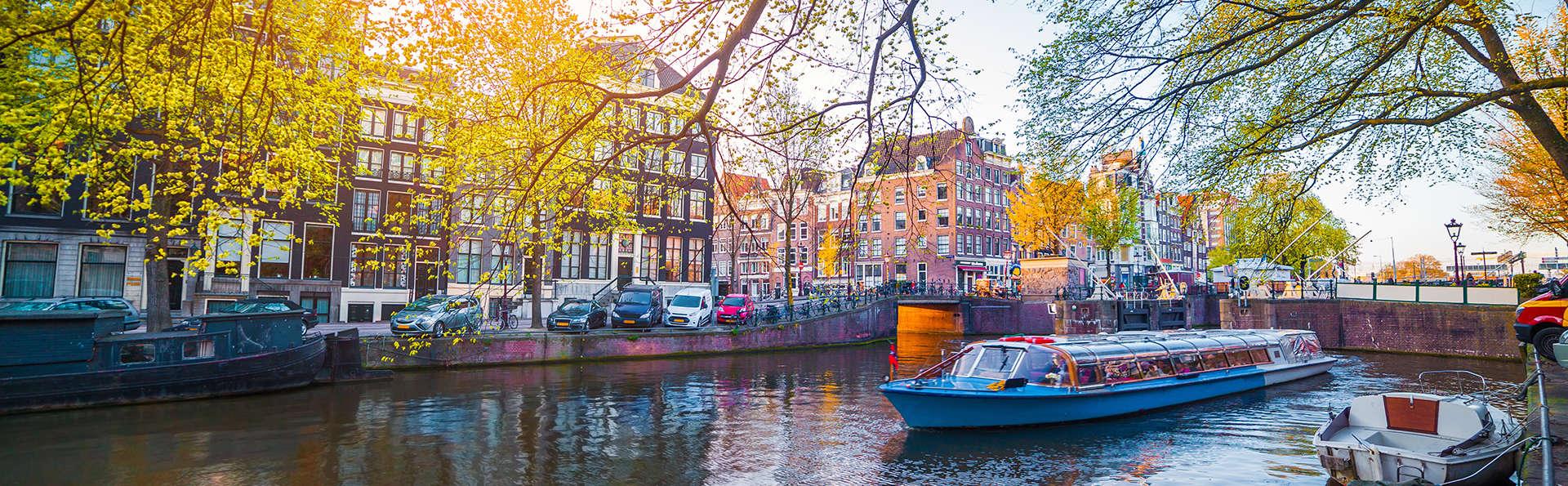 Visite de la ville animée d'Amsterdam