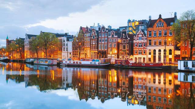 Découvrez Amsterdam et les fleuves Amstel en IJ