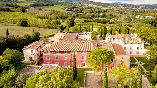 Ontspannende dagen in het groene Toscane in de buurt van Florence