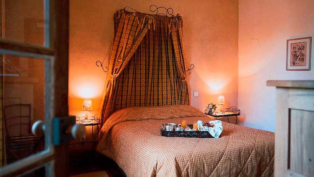 Week-end en amoureux avec dîner et champagne à deux pas de Poitiers