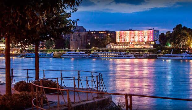 Culinair verblijf met diner en wellness in Bonn