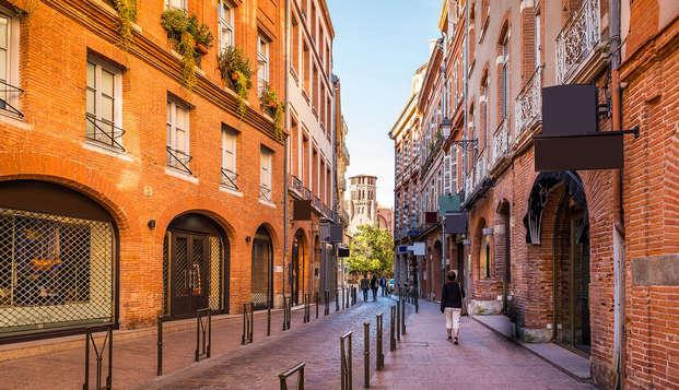 Escapade dans le centre historique de Toulouse