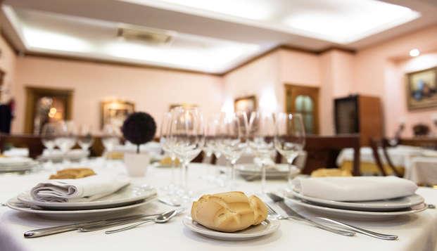 Gastronomía y Relax: escapada con cena y acceso al spa en la histórica localidad de Béjar