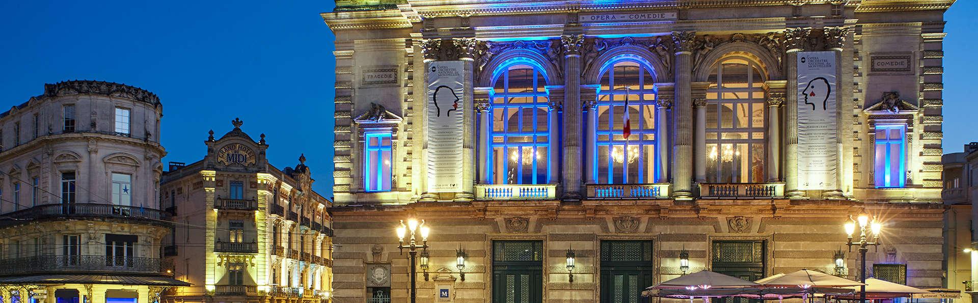 Week-end au coeur du centre historique de Montpellier