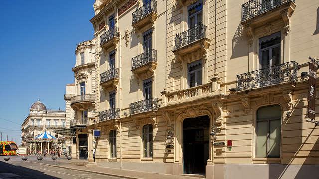 Escapada en un hotel de estilo Haussman en pleno centro histórico de Montpellier.