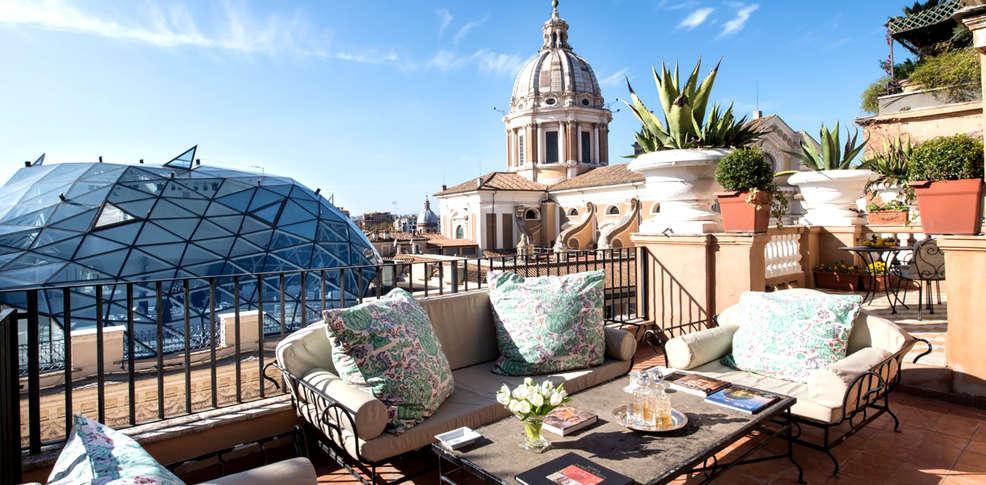 week end de luxe rome avec 1 verre de bienvenue partir. Black Bedroom Furniture Sets. Home Design Ideas