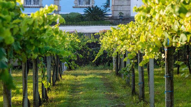 1 visita a la Bodega GranBazán con degustación de vinos y conservas para 2 adultos