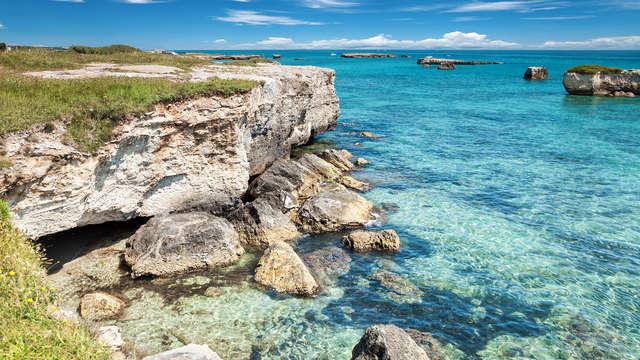 Nel cuore della campagna meridionale vicino a Otranto