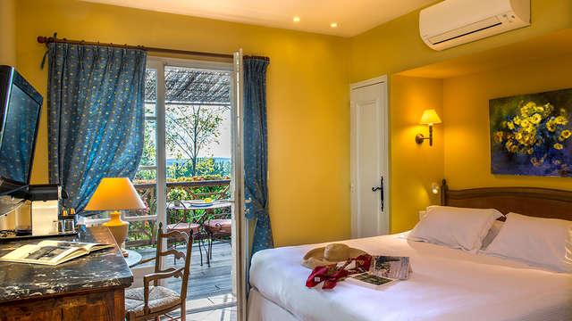Bastide du Calalou - chambre confort terrasse