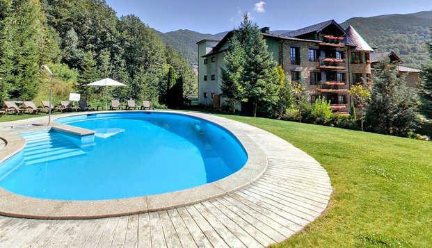 Mini-vacances en Andorre : spa et demi-pension pour un repos absolu (à partir de 3 nuits)
