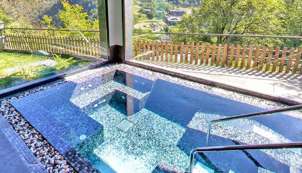 Séjour relaxant avec spa donnant sur la vallée d'Anyós à La Massana