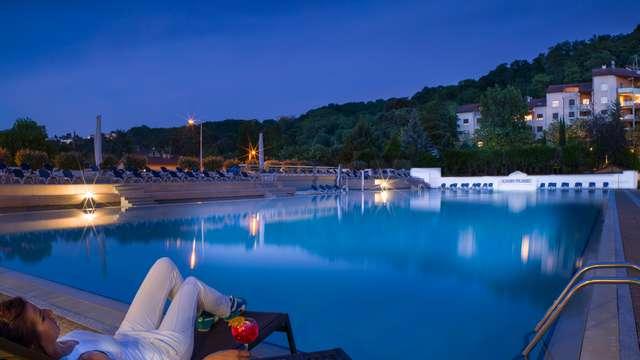 Relax e SPA al bordo del fiume Saona, nel cuore di Lione
