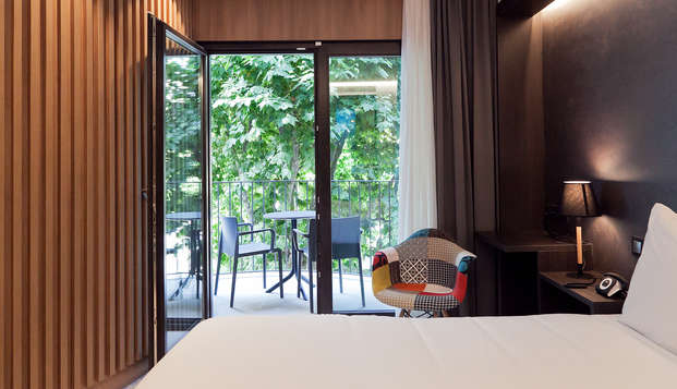 Luxe, design et gastronomie dans une chambre supérieure à Arenys de Mar (á partir 2 nuits)