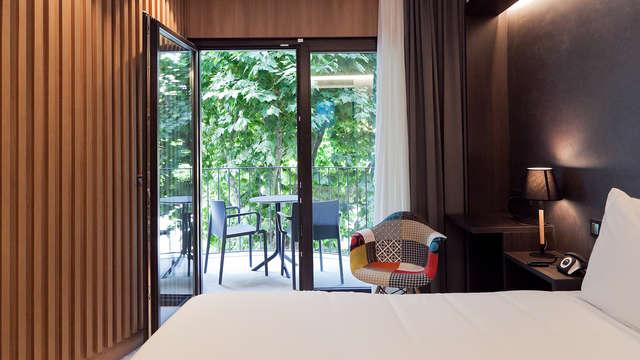 Lujo, diseño y gastronomía en habitación superior en Arenys de Mar (desde 2N)