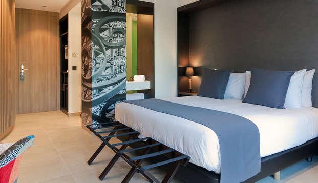 Escapada romántica en Arenys de Mar en un hotel boutique