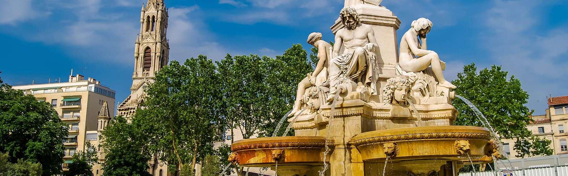 Week-end en chambre supérieure au coeur de Nîmes