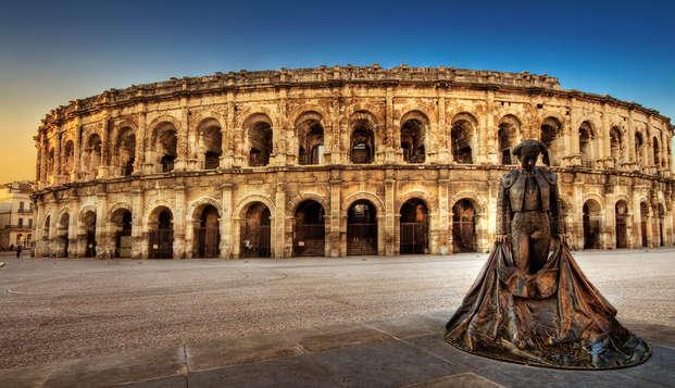 Séjour en amoureux dans un cadre provençal à Nîmes